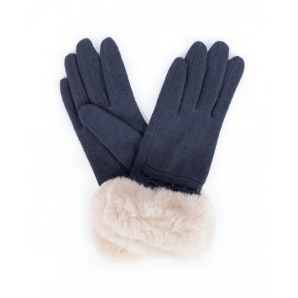 Powder Tamara Wool Gloves Charcoal