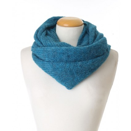 Baby Alpaca Snood Teal