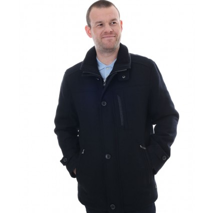 Jupiter Waterproof Wool Jacket Dark Navy