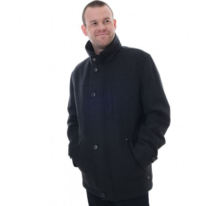 Jupiter Waterproof Wool Jacket Dark Grey
