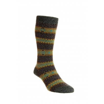 Pantherella Mens Felbrigg Wool Socks Charcoal