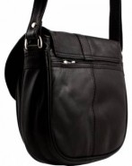 Nova Leather Handbag Black-998