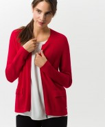 Brax Ann Cardigan Red