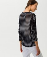 Brax Lisa Top Navy Stripe