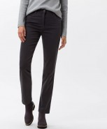 Brax Mary Winter Dream Slim Trousers Grey