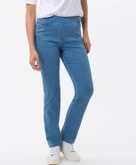 Brax Pamina Slim Pull On Jeans Lightwash