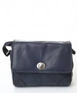 Nova Leather Handbag Navy-911
