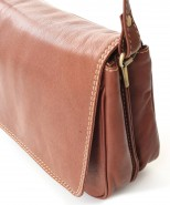 Nova Leather Shoulder Handbag Tan - 939