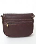 Nova Leather Cross Body Handbag Brown Style - 952