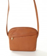Nova Leather Cross Body Handbag Camel Style - 953
