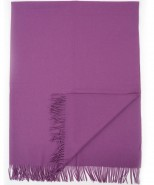 Alpaca Blanket/Throw Purple