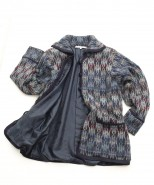 The Alpaca Collection Lined Jacket Georgie Blue