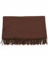 alpaca blanket/throw brown