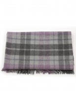 alpaca blanket/throw inca purple