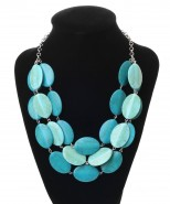 Dante Pebbles Necklace Turquoise