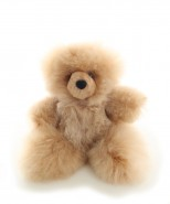 Alpaca Teddy Bear Champagne Medium