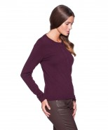 brax cardigan plain amarone