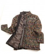 Alpaca Lined Jacket Barbuda Green