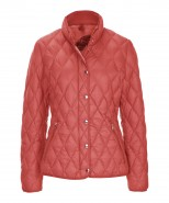 Brax Bern Down Filled Quilted Jacket Papaya