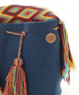 Brand Native Mochila Bag Blue