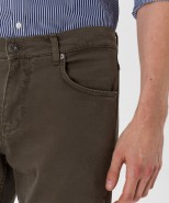 Brax Cooper Regular Fit Jeans Olive