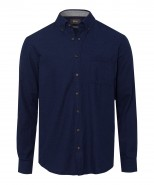 Brax Donald Comfort Fit Shirt Navy