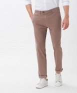 Brax Everest Regular Fit Winter Chino Walnut