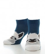Alpaca Ged Ankle Socks Teal