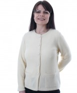 Artisan Route Lauren Cardigan Colour Linen