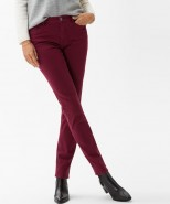 Brax Mary Brilliant Slim Leg Jeans Cranberry