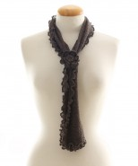 Alpaca Clothing Co Curly Edge Scarf Mink