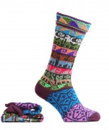 Alpaca Long Socks Multi Coloured