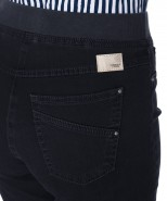 Brax Pamina Jeans Pull On Slim Leg Dark Blue