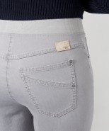Brax Pamina Pull On Slim Leg Jeans Grey