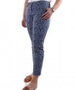 Brax Sara Slim Trousers Blue Print