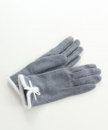 Wool Touchscreen Gloves Grey