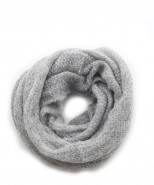 Baby Alpaca Charcoal Snood