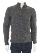 Wilson & Sloane Sheep Wool Sweater Grey