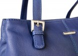 Nova 816 Leather Corss Body Handbag Bluebell