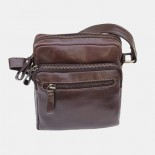 Primehide Leather Flight Bag Brown 6273