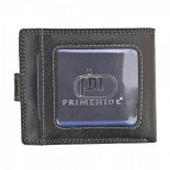 Primehide Leather RFID Wallet 4151 Black