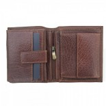 Primehide Leather RFID Wallet 4152 Brown