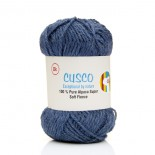 Alpaca Yarn Dyed Denim