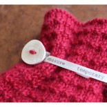 Alpaca Hot Water Bottle Cover Knitting Kit Red