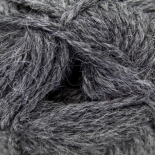 Alpaca Double Knit Yarn Natural Dark Grey