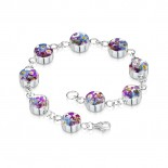 Shrieking Violet Sterling Silver Purple Haze Bracelet