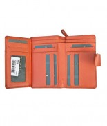 Primehide Windermere Inside Flap Purse Orange 22808