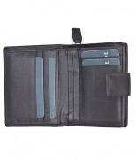 Primehide Leather Trifold Purse Brown 2311