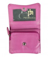 Primehide Soft Touch Small Curve Purse Cerise 2316
